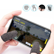 2020 2Pair Breathable Mobile Game Controller Finger Sleeve T