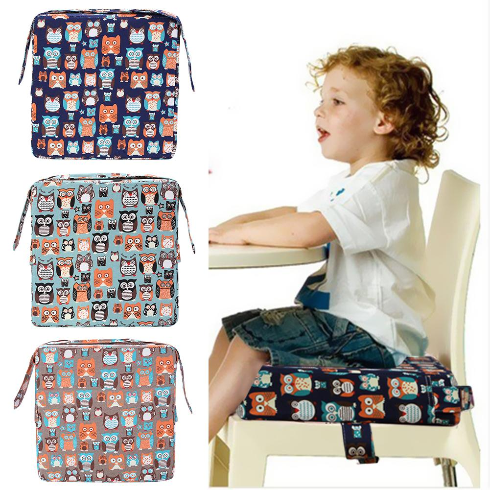 Modern Removable Linen Cushion Baby Increased Thick Mat Table Chair Cushion