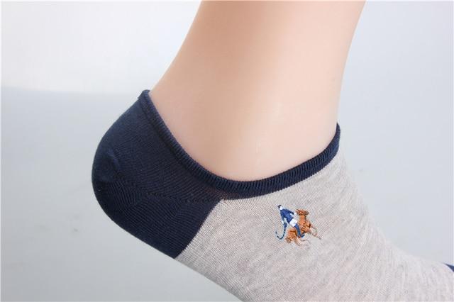 Носки мужские однотонные хлопковые модные пикантные невидимые