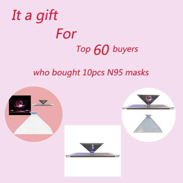 N95 6 layer Filter Mask Face Mask As FFP3 FFP2 Windproof Dustproof Anti PM2.5 Prevent Flu Mask KN 95Mask Features With Gift 1