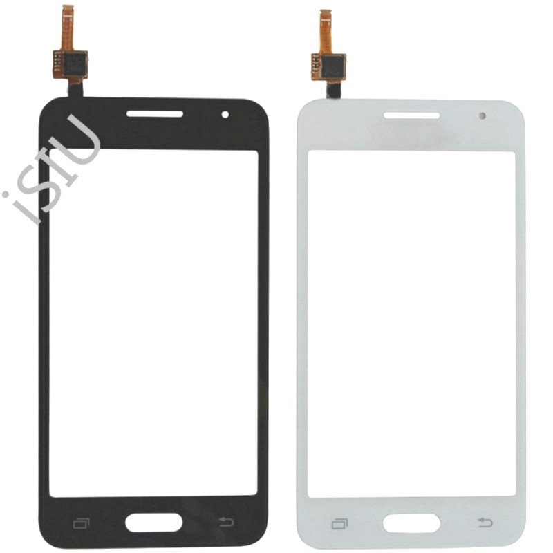 4.5'' LCD <font><b>Display</b></font> Touch Screen For Samsung Galaxy Core II 2 Duos SM-<font><b>G355H</b></font> G355 <font><b>G355H</b></font> Touchscreen Panel Front Glass Phone Parts image
