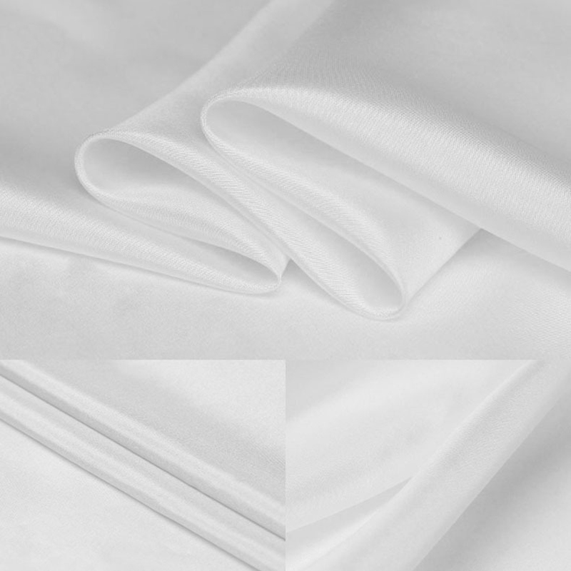 Nature 100% Silk Habutai Fabric For Silk Lining Silk Pongee Habotai Use Scarf 8 momme