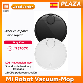 Versión Global, Robot aspirador Xiaomi, LDS, navegación láser, fregona de 3 modos y barrido, aplicación doméstica, Control remoto, limpiador de polvo