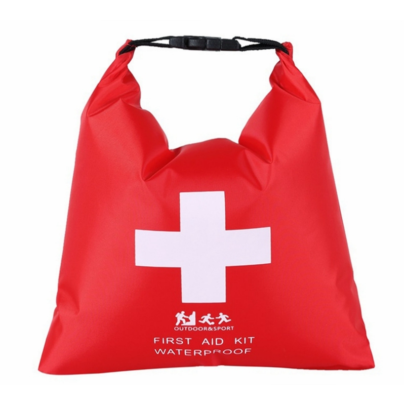 Waterproof First Aid Kit Bag 1.2L Emergency Kits Case Portable For Outdoor Camp Travel Emergency Medical Treatment