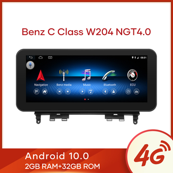 "MCWAUTO for Mercedes Benz C-Class W204 2008-2010 10.25"" Android 10.0 Display Car Radio Screen GPS Navigation Bluetooth image"