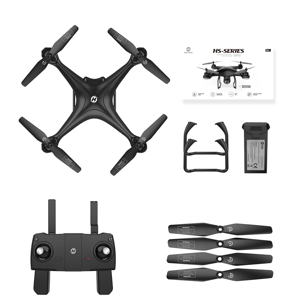 Tool - Holy Stone HS120D GPS Drone FPV 1080p HD Camera Professional Wifi RC Drones Selfie Follow Me Quadcopter