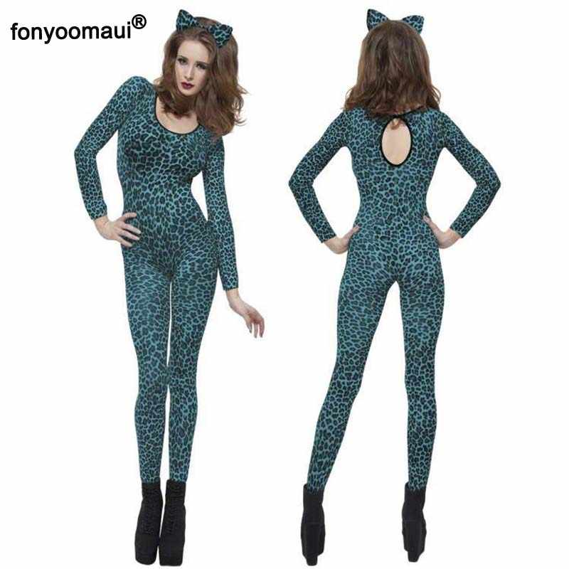 WOMENS ANIMAL PRINT TIGER 1ONESIE1 LADIES,FANCY DRESS COSTUME,ADULT//MEN,0NESIE,