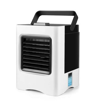 Office Usb Electric Fan Air Cooler Best Portable Usb Mini Air Conditioning Fan Must-have in Summer!!dormitory Home Room 12V hot aluminum alloy 4000w tomada usb stopcontact electric 2 usb ports meeting room office