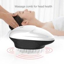 ไฟฟ้า Scalp Massager แบบพกพามือถือหัวนวด Scratcher สำหรับกระตุ้นผมความเครียด Full Body Massage