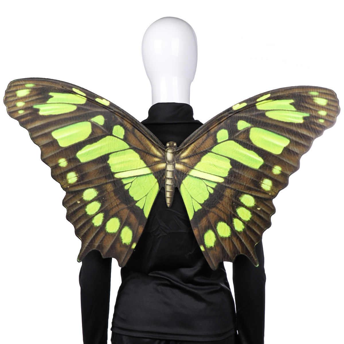 Хэллоуин карнавала Марди Гра фестиваль вечерние необычное платье на выпускной, костюм с украшением в виде крыльев бабочки; 79*44 см