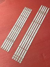 10 pçs/set tira retroiluminação LED para 50PUS6162/12 50PUS6703 50PUS6753 50PUS7383/12 50PUS6523/12 50PUS6503 LB50086 LB50082 LB50089