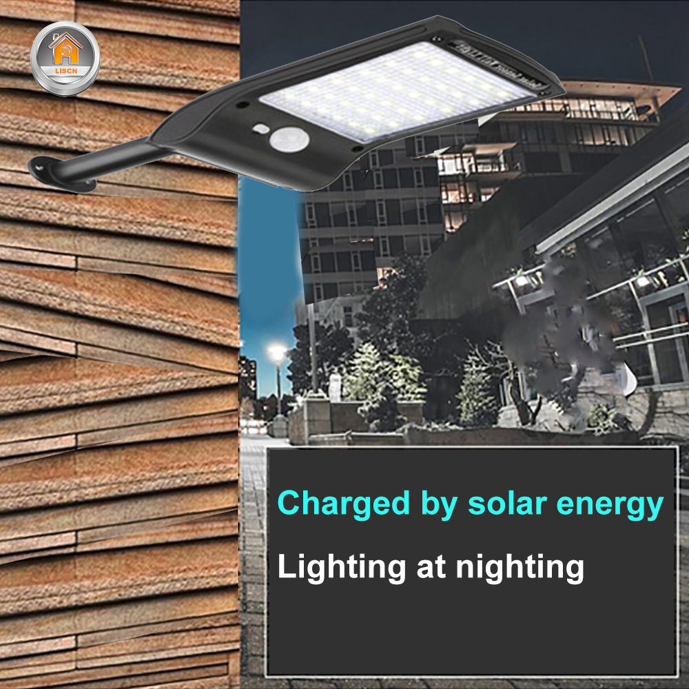 Outdoor Solar Wall Light with 180 Degree Rotating Struts in 3 Sensor modes for Stair and Garden Pathway 2