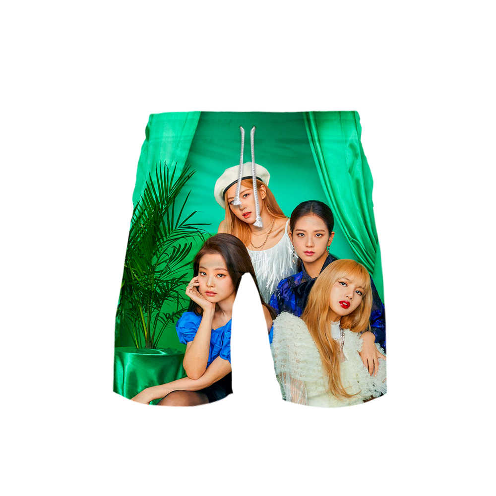 Blackpink Idol 3D print Fashion Casual shorts Basic Street Zomer Koreaanse shorts cool Sport Kpop Shorts Moletom man broek Hipster