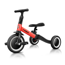 Children Bicycle Tricycle Child Two Wheel Bike Foldable Baby Balance Bike Kids Scooter Baby Stroller for 1-6 Years Old