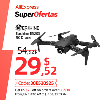 Eachine E520S zdalnie sterowany Quadcopter helikopter dron z 4K profesjonalna kamera HD 5G WIFI FPV wyścigi GPS szerokokątny składane zabawki RTF tanie i dobre opinie inny Z tworzywa sztucznego Metal 4 x 1 5 AAA Battery (not included) CN (pochodzenie) Wewnątrz i na zewnątrz 4K UHD 200-300m