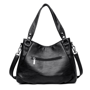 Image 4 - Womens Genuine Leather Handbag Large Leather Designer Big Tote Bags for Women 2019 Luxury Shoulder Bag Famous Brand Handbags