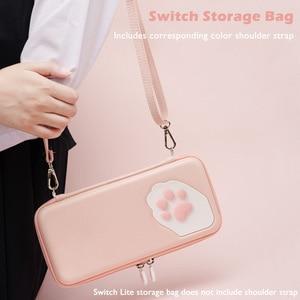 Image 4 - Housse de protection pour smartphone étui de protection pour chat griffe CP sac de rangement NS Silicone coque rigide pour Nintendo Switch Lite accessoires de Console de jeu