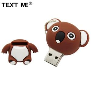 Image 5 - 私にテキスト漫画動物コアラゲイリーブラウンモデルusbフラッシュドライブusb 2.0 4ギガバイト8ギガバイト16ギガバイト32ギガバイト64ギガバイトクリエイティブペンドライブ