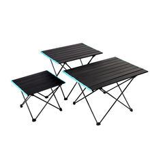 Уличная мебель для кемпинга Складной стол пикника из алюминиевого