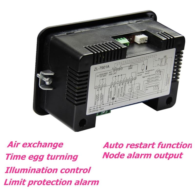 Varejo Zl-7901A, 100-240vac, pid, incubadora automática multifuncional,