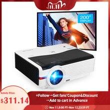 Caiwei A9/A9AB الذكية أندرويد واي فاي LCD LED 1080p العارض السينما المنزلية كامل HD فيديو موبايل متعاطي المخدرات الهاتف الذكي التلفزيون Miracast Airplay