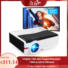 Caiwei A9/A9AB Smart Android Wifi Lcd Led 1080P Projector Home Cinema Full Hd Video Mobiele Beamer Smartphone tv Miracast Airplay