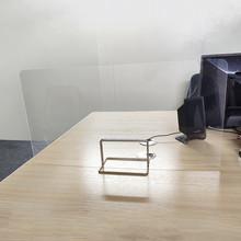 Szkolne biurko ścianka działowa ekrany rozdzielające prywatność Panel separatora akrylowego do liczników stołowych ekrany ochronne izolowane tanie tanio ISHOWTIENDA Streszczenie Struktura wsparcia Wielofunkcyjny acrylic Nowoczesne