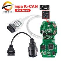 INPA K+ DCAN USB интерфейс для bmw OBD CAN Reader диагностический сканер переключаемый INPA DIS SSS NCS кодирование