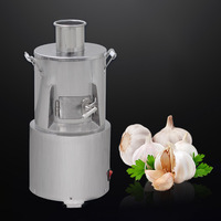 Small Household Electric Garlic Peeling Machine Food Processor Commercial Garlic Peeler Fully Automatic Garlic Peeling Machine|Processadores de alimentos|   -