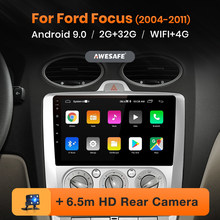 AWESAFE PX9 per Ford Focus 2 3 Mk2 / Mk3 2004-2011 Auto Radio Multimedia video player GPS No 2 din Android 10 2GB + 32GB(China)