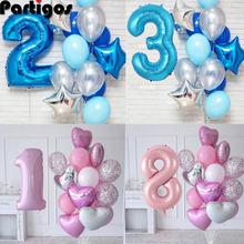 12 шт/лот воздушные шары для мальчиков на день рождения с 40