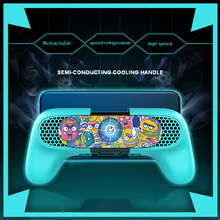 Mobile-Phone-Cooling-Fan Cooler-Controller Smart-Phone Gamepad Handlewith 4-6inch