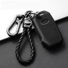 Leaher TPU Car Remote Smart Key Cover Case For Kia Sportage Ceed Sorento Cerato Forte 2017 2018 2019 keychain Auto Accessories