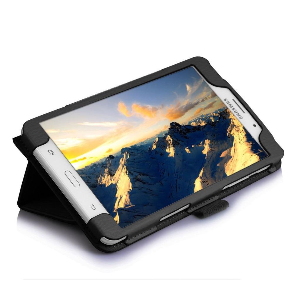 Чехол-подставка для Samsung Galaxy Tab A 6 A6 7,0 2016 T280 SM-T280 T280N T285 SM-T281 откидной Чехол из искусственной кожи для планшета-3