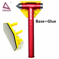 Emergency life saving hammer car with base safety hammer two in one multi function fire escape hammer window breaker fire escape