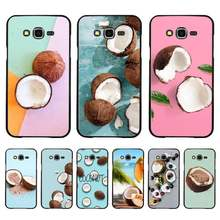 Babaite Fruit Coconut on the beach DIY phone Case for Samsung A50 A70 A40 A6 A8 Plus A7 A20 A30 S7 S8 S9 S10 S20 Plus(China)