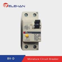 TELEHAN BV-D/2P 25A 32A 40A 63A RCCB, ResidualCurrent Circuit Breaker, Earth Leakage ELCB, protector