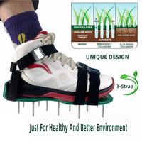 Lawn Aerator Shoes Lawn Aerating Shoes With Spikes Heavy Duty Lawn Shoes For Women Men Aerating Your Yard Lawn Roots Grass|Aeradores manuais|   -