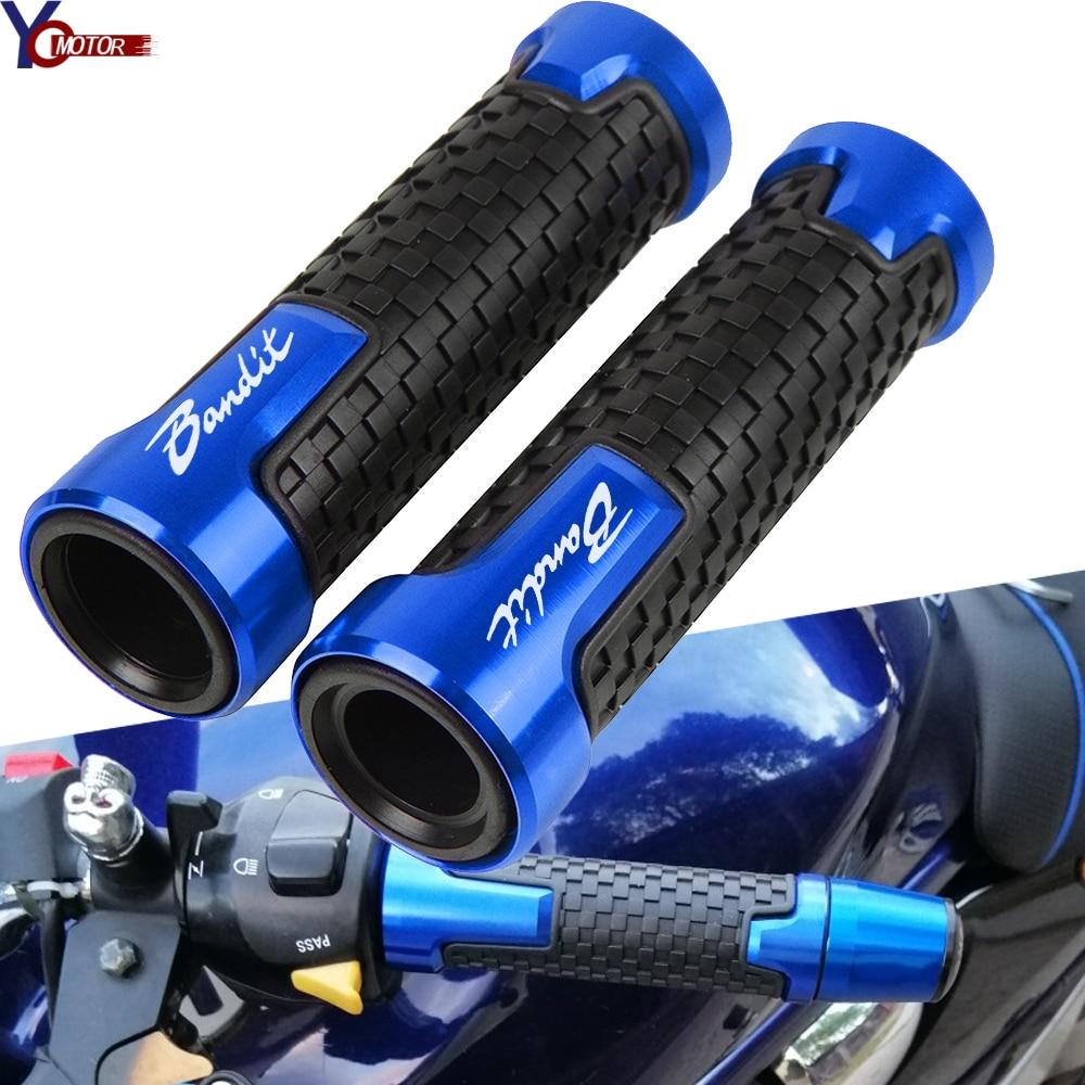 For SUZUKI GSF1200 1250 600 250 650S Bandit Motorcycle Handle Bar Grips Handlebar Grip Hand Bars Motorcycle Accessories