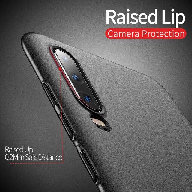 P30 Pro Case MSVII Slim Matte Coque For Huawei P30 Lite Pro Case P 30 Plus Hard PC Cover For Huawei P20 Lite P40 Pro Lite E Case 6