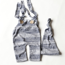 Newborn Overall Romper Suspender-Straps Photo-Outfit-Set Photography-Props Pants