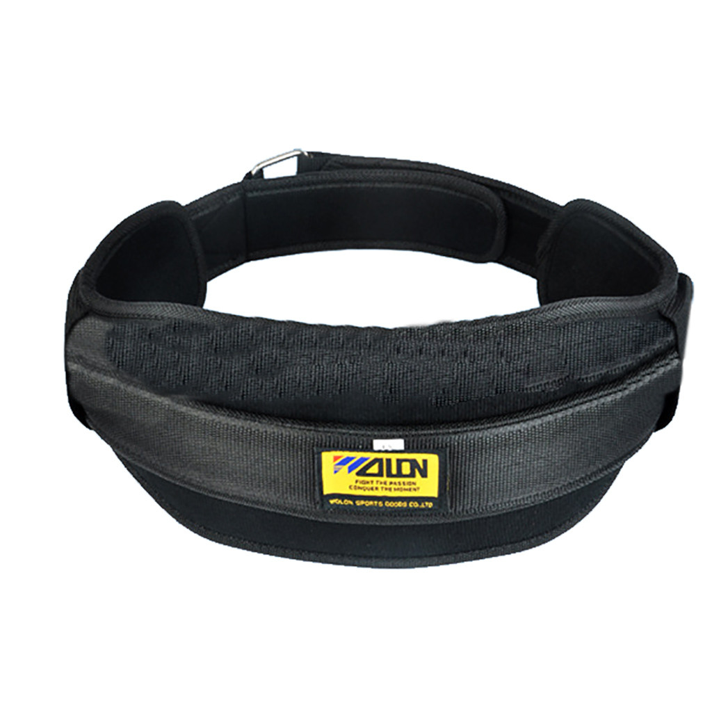 Padded Weight Lifting Belt Fitness Weightlifting for Fitness Training Waist Support Bodybuilding Belt Crossfit Power Strength