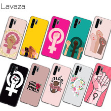 Lavaza สตรีนิยม fist Symbol Case สำหรับ Honor Mate 30 Nova 4E 5T V20 9X P20 Y9 5I P Z PRIME PLUS LITE PRO(China)