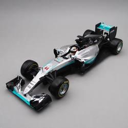 Bburago 1:18 1/18 2016 W07 Mercedes Benz Lewis Hamilton No44 Formula 1 F1 гоночный автомобиль Транспортное средство литье под давлением дисплей Модель Игрушки для