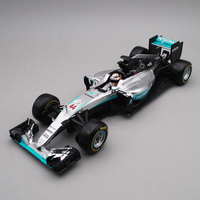 Bburago 1:18 1/18 2016 W07 Mercedes Benz Lewis Hamilton No44 Formula 1 F1 Racing Car Vehicle Diecast Display Model Toy For Boys
