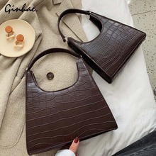 Luxury Designer Alligator PU Leather Handbags High Quality Shoulder Bag Women Famous Brand Crossbody Bags Ladies Elegant Totes цена в Москве и Питере