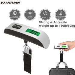 50kg balance de valise numérique balance suspendue électronique LCD valise de voyage bagage sac poids échelles 40% de réduction