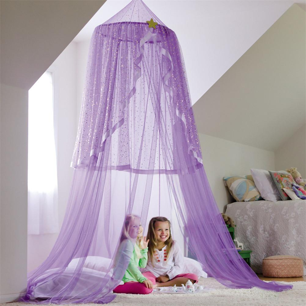 Kidlove Magic Cabin Starlight Hanging Play Tent Bed Canopy With LED Lights
