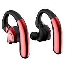 SHZONS Q9S TWS V5.0 Bluetooth Headset HiFi Ear Hook Type High Power Sports Wireless In Sport Earphones