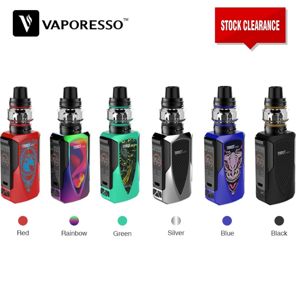 Original Vaporesso Tarot Baby Kit Electronic Cigarette With 2500mah Box Mod 4.5ml NRG SE Tank 0.002s Firing Speed Vs Swag 2/ Gen